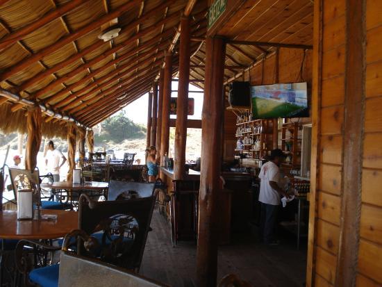 Todos Santos, México: Único Restaurante de la Zona.