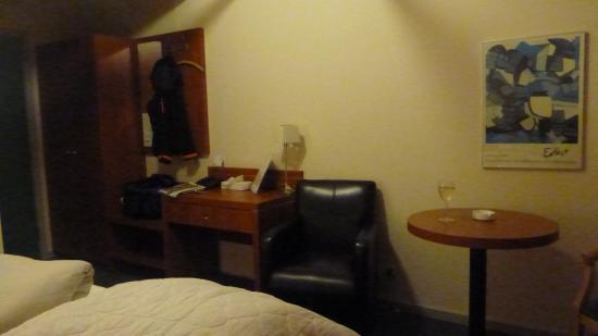 Hotel HirtsHals: Interiør på rommet