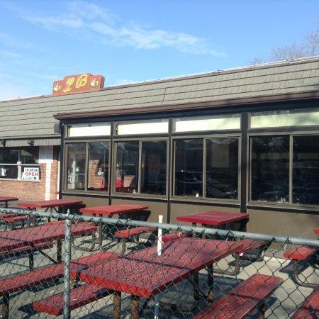 Pizza Picture Of L B Spumoni Gardens Brooklyn Tripadvisor