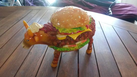 Little Next Door: hamburger gros comme une vache