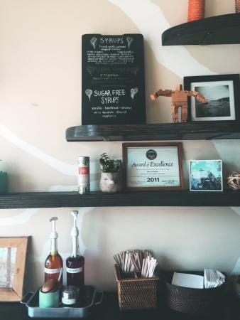 Milk + Honey: Such a cute cafe.