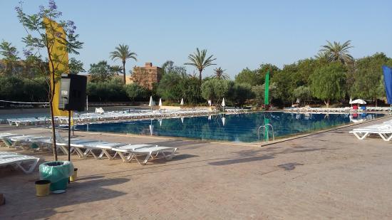 La grande piscine vue du sud photo de club marmara for Club piscine shawi sud