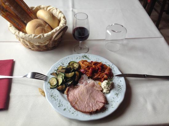 Rifugio Branchetto: Ottima la cucina