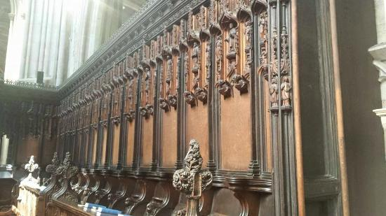 Parish Church of St Laurence: Choir Stalls