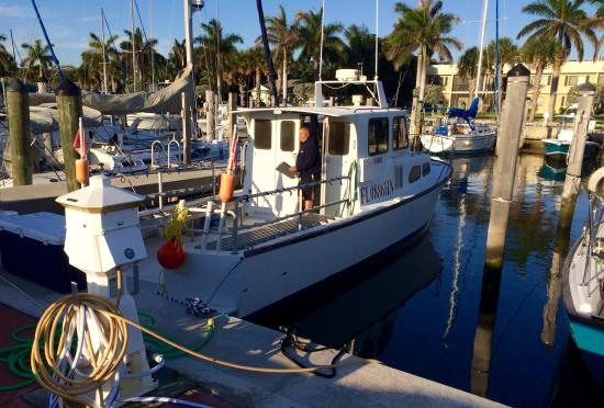 Calypso dive charters Miss Jackie