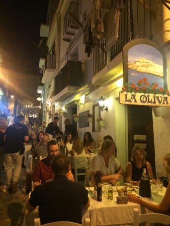 La terrasse de La Oliva