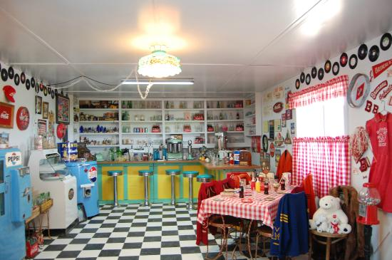 Grand View, Айдахо: The Soda Fountain