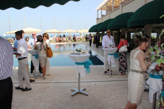 D-Marin Didim Marina Yacht Club: Cocktail hour by the pool