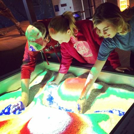 Mid-America Science Museum: Playing with Rain and Terrain in Arkansas Underfoot Gallery