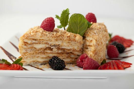Tatiana Club & Restaurant: Delicious Homemade Napoleon cake