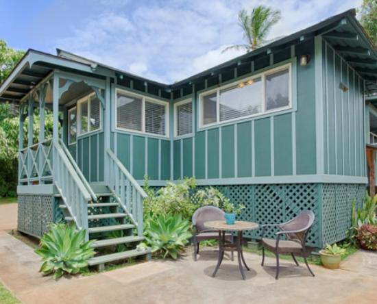Paia, Hawái: green turtle house