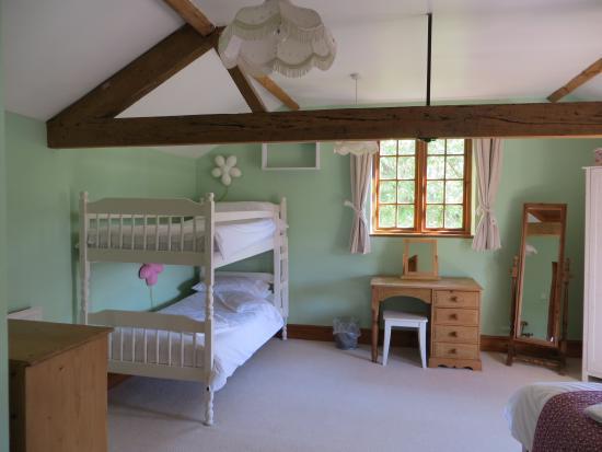 Lugwardine, UK: 2nd bedroom bunks