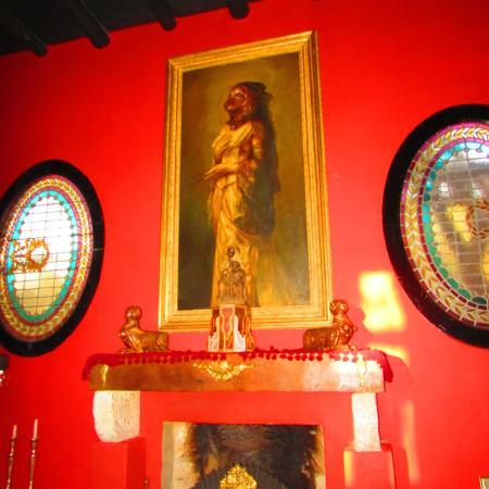 Hotel Estancia de la Cruz: Sala principal
