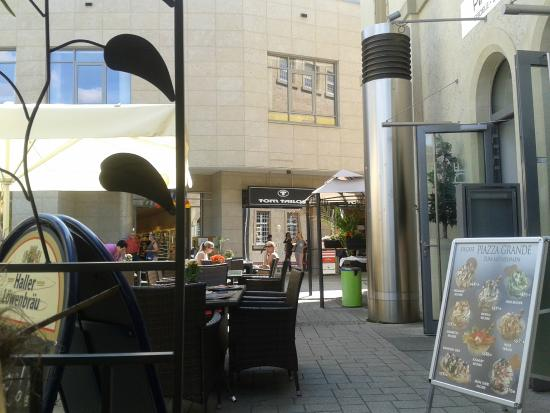 Piazza Grande Fam. Berardi: Lovely terrace