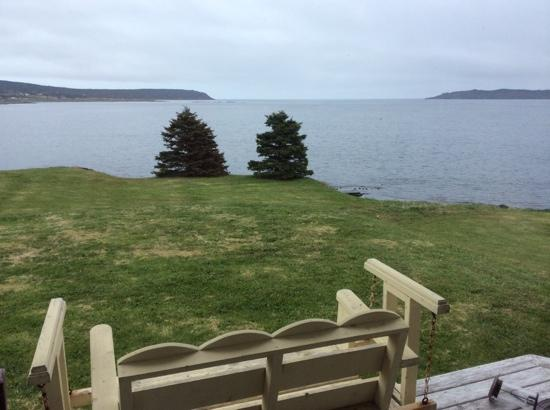 Elaine's Bed and Breakfast By The Sea: view from living room