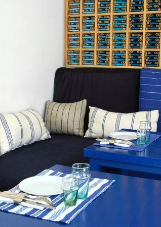 Le restaurant, Le Salon Bleu - Picture of Dar Nour, Tangier ...