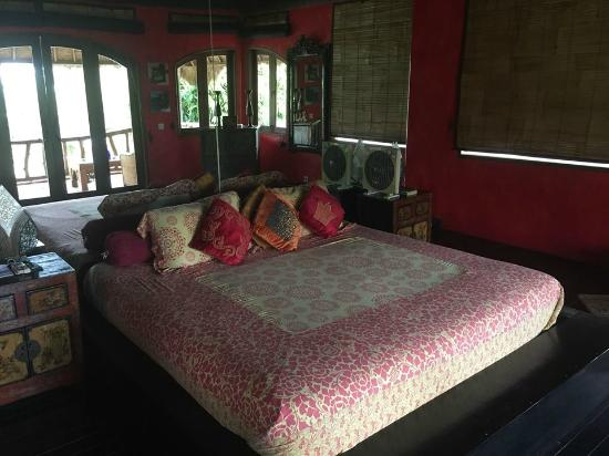 Katana Villa: The beautiful master bedroom.