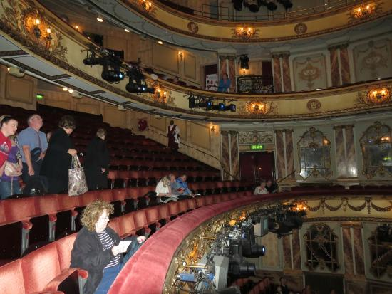 Novello Theatre Dress Circle Row A Looking From Seat 1