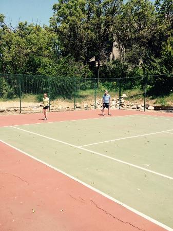 WorldMark Wolf Creek : Tennis courts