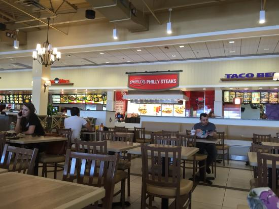 Tanger Outlet Food Ideas