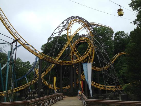 Brand New Coaster Tempesto Picture Of Busch Gardens