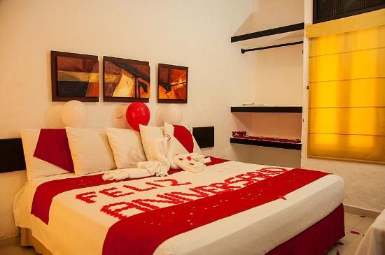 Cena romantica picture of hotel paloverde villas - Como preparar una noche romantica ...