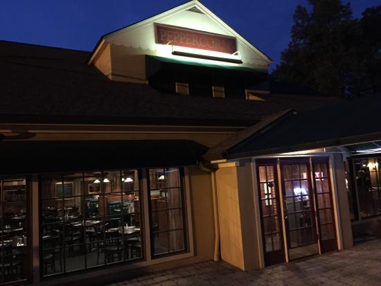Peppercorns Restaurant Bar By Night