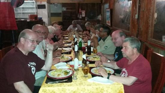 Personas que cenaron en red lobster
