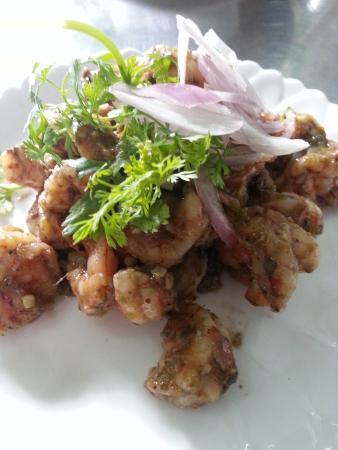 Minn Lan: Prawn salad