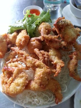 Minn Lan: Seafood platter