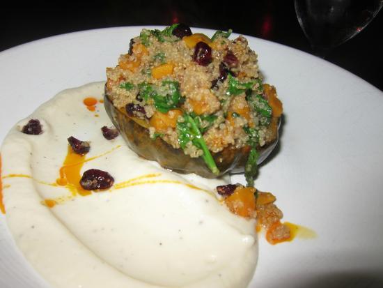 Davio's Northern Italian Steakhouse at Patriot Place: Roasted Acorn Squash, Quinoa, Butternut Squash, Dried Cranberries