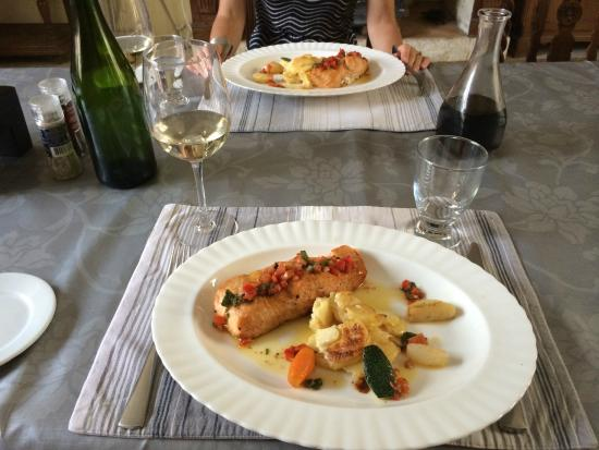 Fresne-la-Mere, Frankrig: The perfect fish