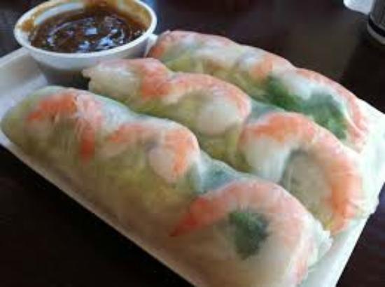 Pho-hoang-minh Vietnamese Restaurant : fresh roll