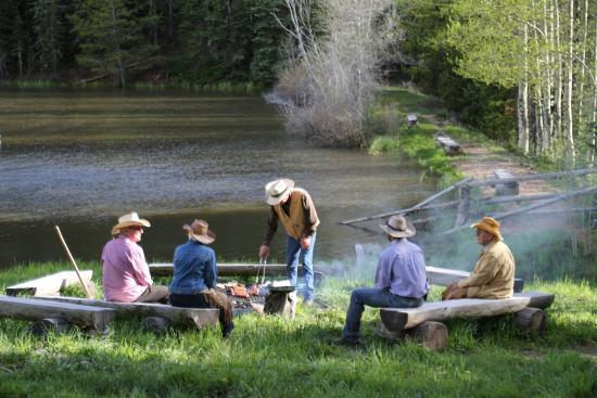 Mc Coy, Kolorado: Pack camp.