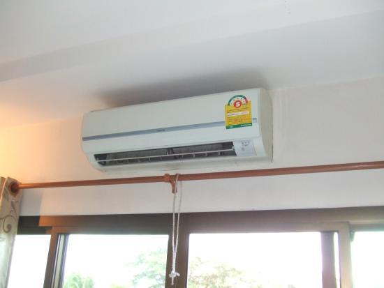 Kong Garden View Resort Chiang Rai: すこし使いずらいエアコン、でもちゃんと冷えますから。