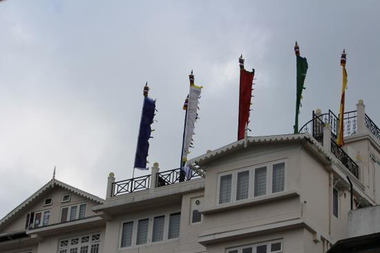 Hotel Sanderling: Hotel terrace