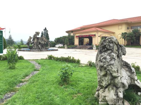 Xiuwen County, China: Inside the golf club