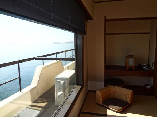 Awajishima Kanko Hotel: 部屋から