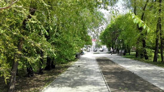 Сквер Волконских