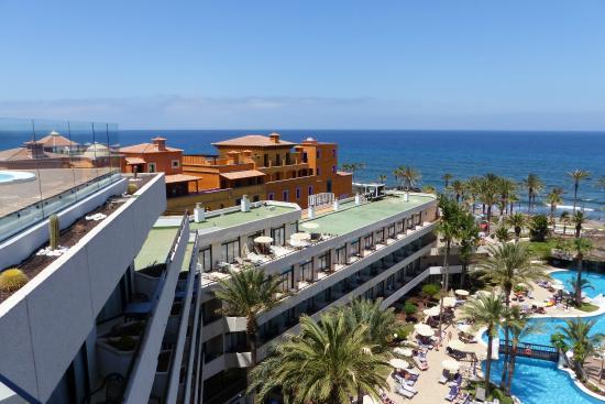 Terrasse privil ge picture of h10 conquistador playa de - The conquistador tenerife ...