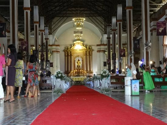preparing wedding at San Agustin church, Paoay - Picture ...