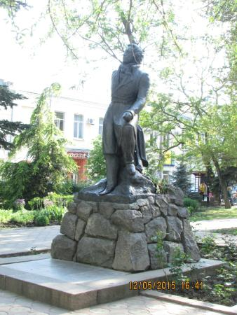 ‪Monument to Alexander Pushkin‬