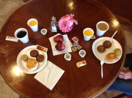 Fredericksburg Hill Country Hotel: Frühstück