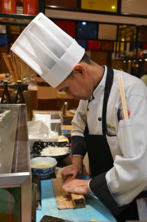 Mequeni Restaurant: Sushi Chef