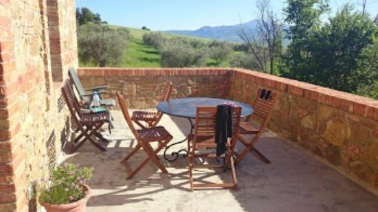 Agriturismo Barbi: terrace