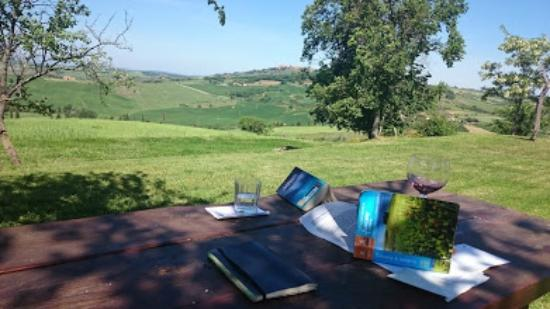 Agriturismo Barbi: planning of the trip with guide book available in the room