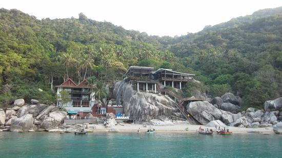Ao Muong Resort: Отель  с моря