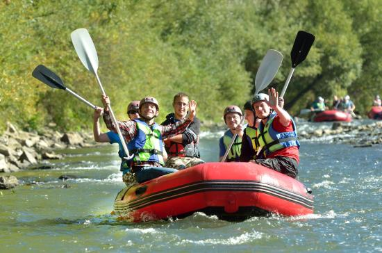 Czysta Frajda - River Kayaking
