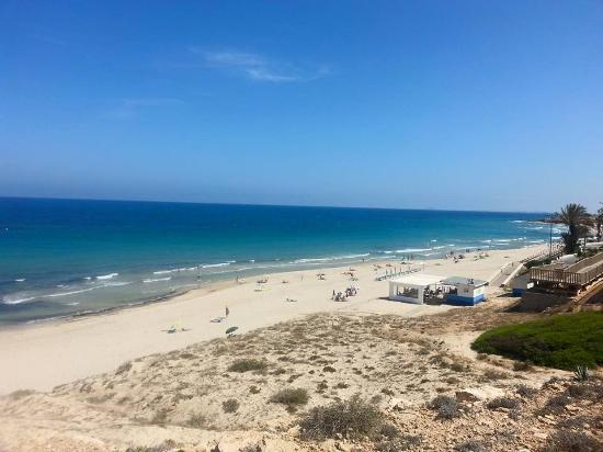 Palmera Beach Apartments: playa