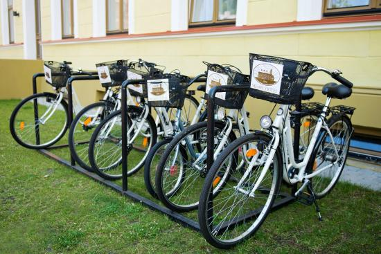 Memel Hotel: Free bicycle rental
